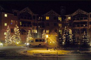 Christmas in Breckenridge, Free Curbside Shuttle Included