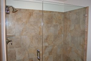 Extra Large Glass Shower