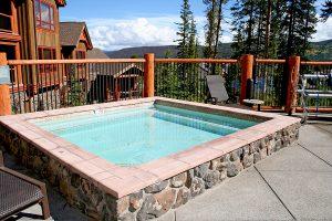 Common Area Hot Tub and Pool Area
