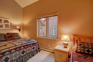 Bedroom #2 Queen and Twin Bed View