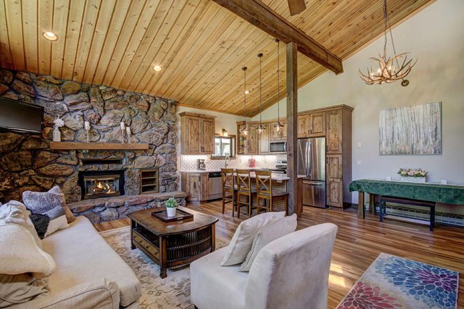 3 Bedroom, 2 Bath Breckenridge CO Home Rental