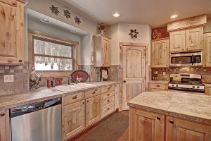 Stainless Steel Appliances and Tastefully Decorated