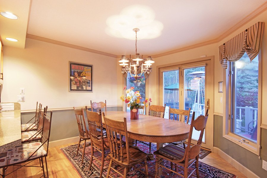 Lincoln Place Chalet: Dining Area