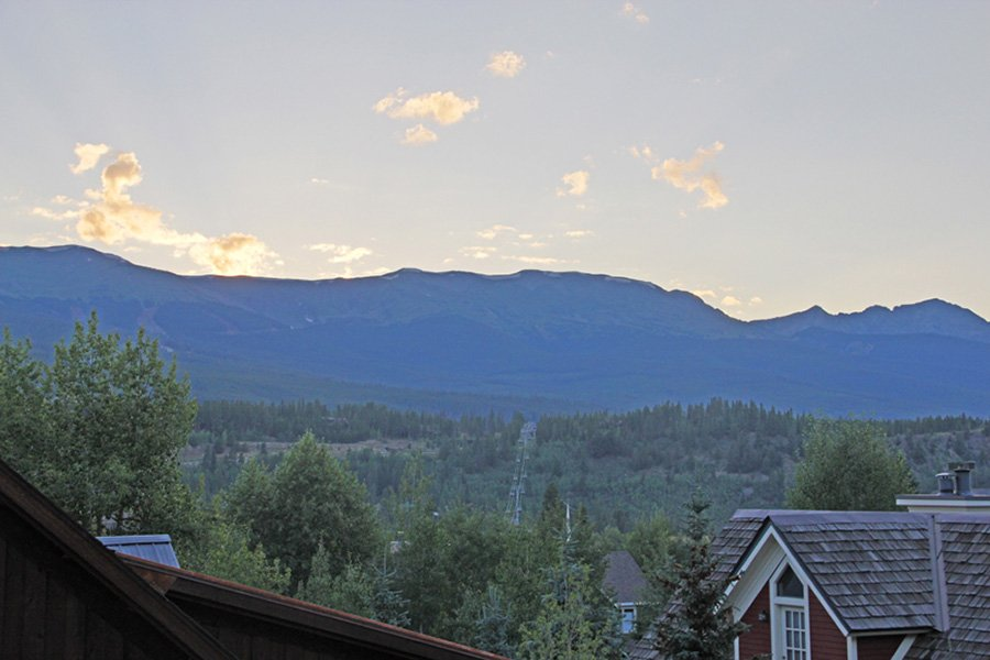 Lincoln Place Chalet: Additional Views From Deck