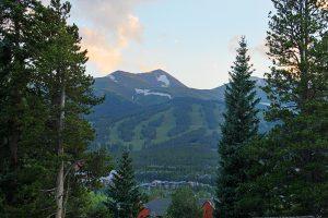 Overlooking Breckenridge Ski Resort