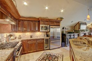 Fully Stocked Gourmet Kitchen with High End Viking Appliances