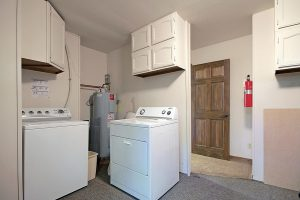 Full Size Washer and Dryer and 8-Pair Boot Dryer