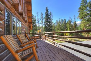Soak in the Amazing Views from the Front Deck