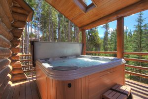 Bubbly Hot Tub Perfect for Relaxing In
