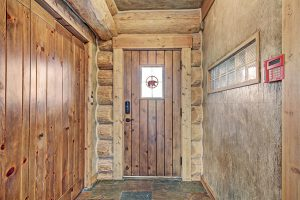 Entryway for The Bear Cabin Property