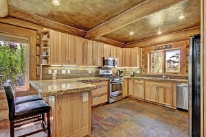 Fully Stocked Kitchen with Solid Granite Counters