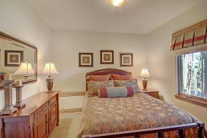 Lower Level Guest Bedroom #4 with Queen Size Bed