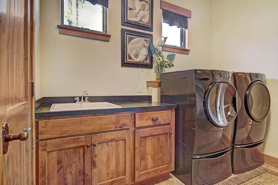 Moose Crossing Lodge: Laundry Room