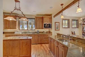 Fully Stocked Gourmet Kitchen w/Wolf Range, Sub Zero Fridge, Double Sink