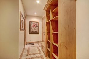 Mudroom with Gear Cubbies and Coat Rack