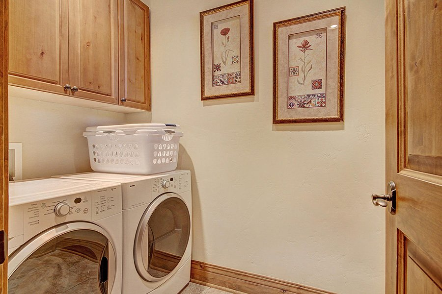 Ski Hill Lodge: Washer and Dryer