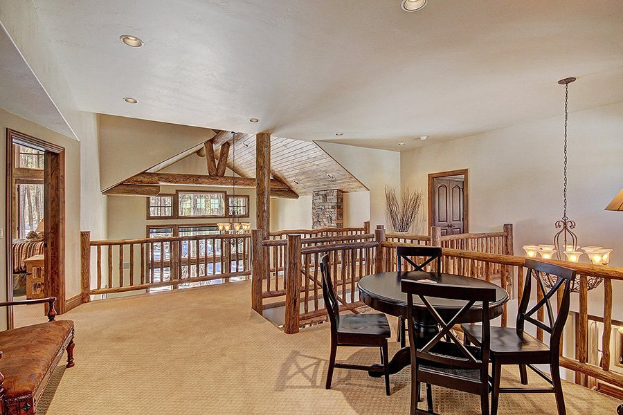 Ski Hill Lodge: Loft Area