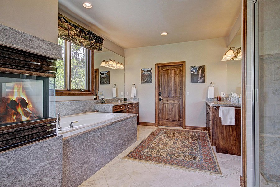 Ski Home Castle: Main Level Master Bathroom Additional View
