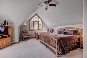 Upper Level Bedroom #2 with King & Twin Size Beds