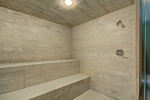 Large Indoor Sauna/Steam Shower