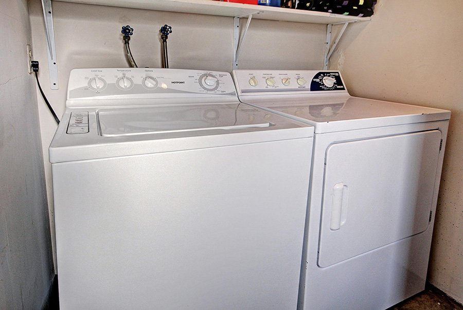 Claimjumper Condo 22: Washer & Dryer