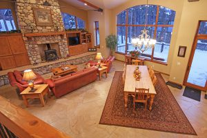 Spacious and Open Living Area