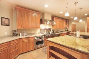 Two Stoves, a Large Gas Range, Two Sinks and Two Dishwashers