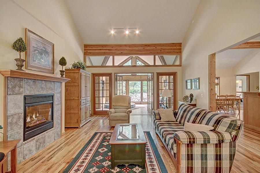 Homestead Retreat: Main Living Room