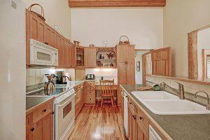 Additional Kitchen View; Built-in Work Desk in Background
