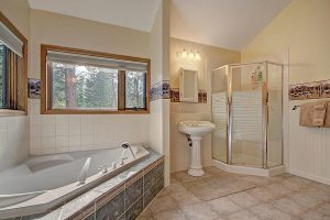 Master Bathroom with Separate Tub & Shower