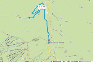 3.9 Miles to BreckConnect Gondola