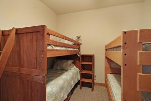 Bunk Room with Two Twin Bunk Beds