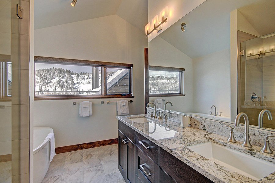 Luxury On Main: Master Suite #1 Bathroom Additional View
