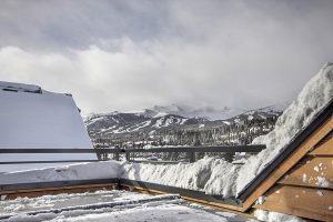 Great Views of Breckenridge Ski Resort from Hot Tub