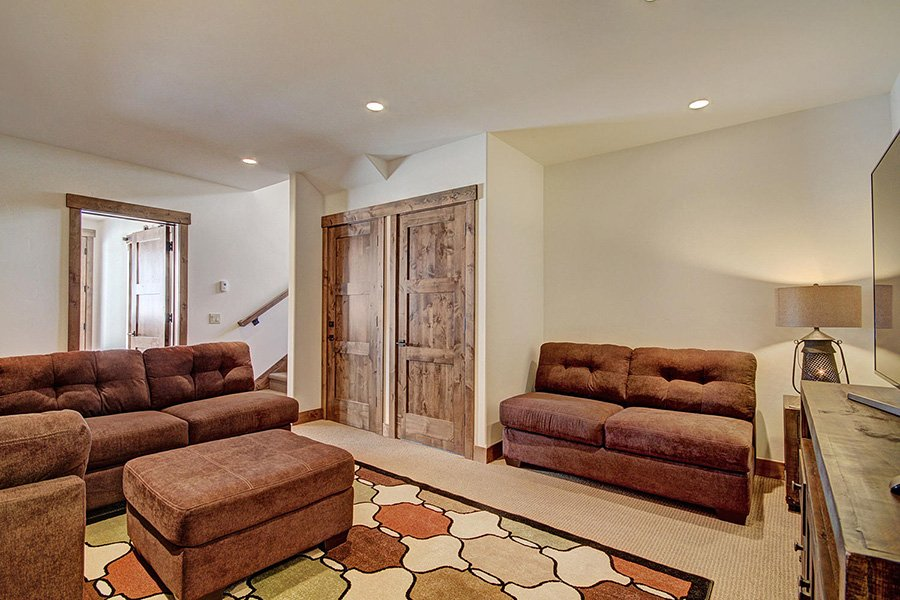 Luxury On Main: Lower Level Rec. Room Additional View
