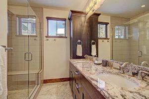 Master Suite #2 Bathroom with His/Her Vanity