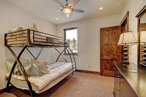Guest Room with Twin over Full Bunk Bed