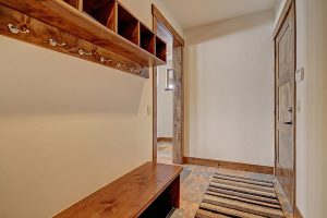 Mudroom Area for Coats & Boots